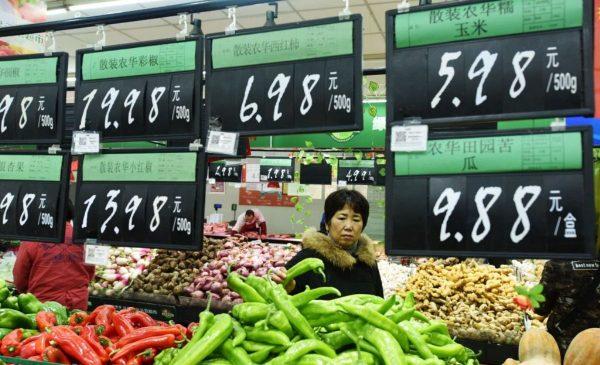贸易战推高通货膨胀 中国各类商品大涨价