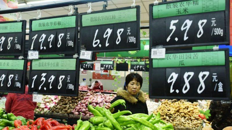 貿易戰推高通貨膨脹 中國各類商品大漲價