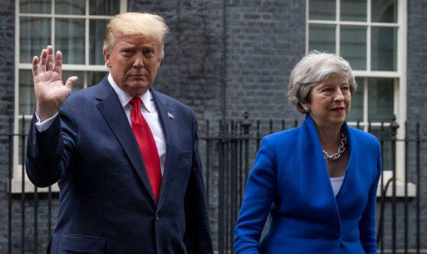 川普會見英首相談及華為 英高官密集表態