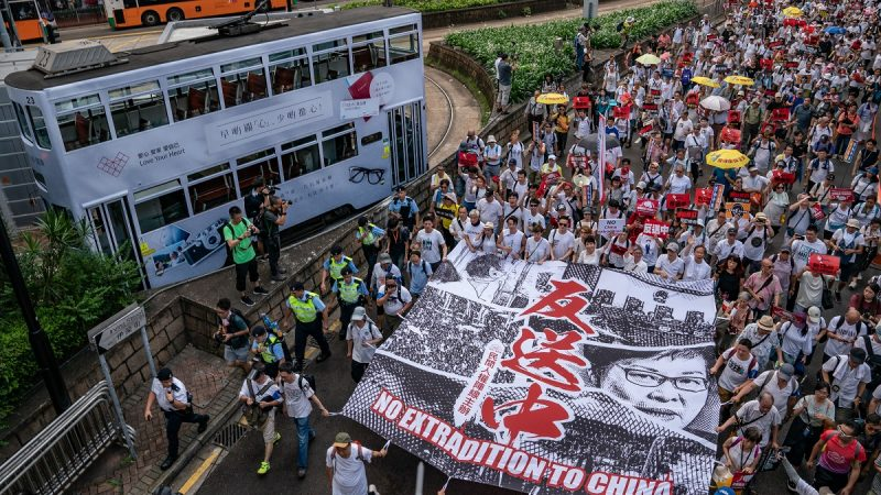 香港反送中升級 學生擬包圍立法會特首辦