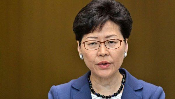 德媒:大规模抗议让林郑月娥束手无策进退维谷