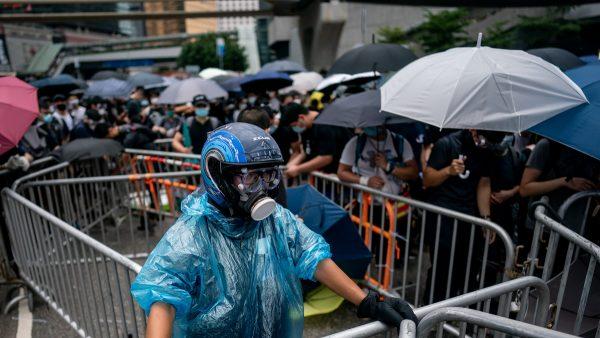 川普谈香港百万人反送中:我见过的最大示威