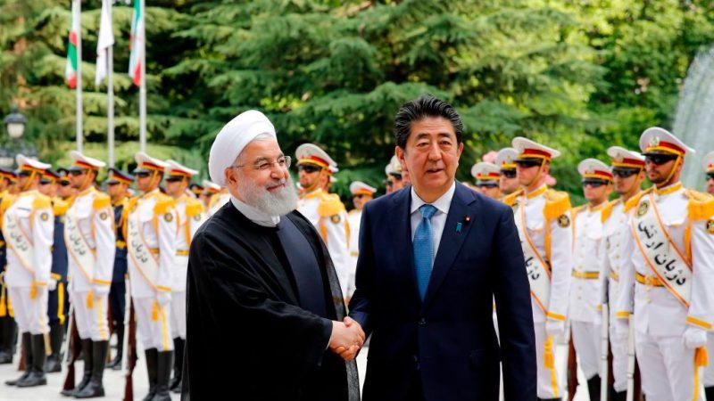 調停美伊緊張 安倍:伊朗須扮演建設性角色