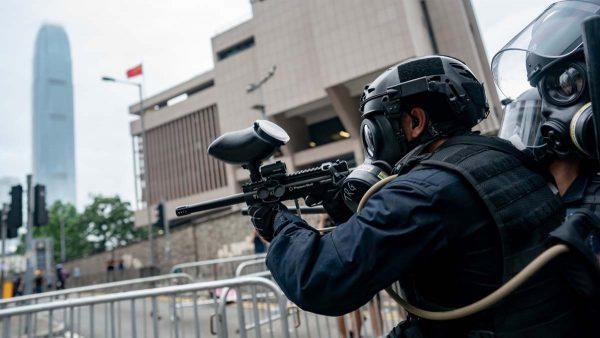 美官員:若中共軍警入港鎮壓 美即實施制裁