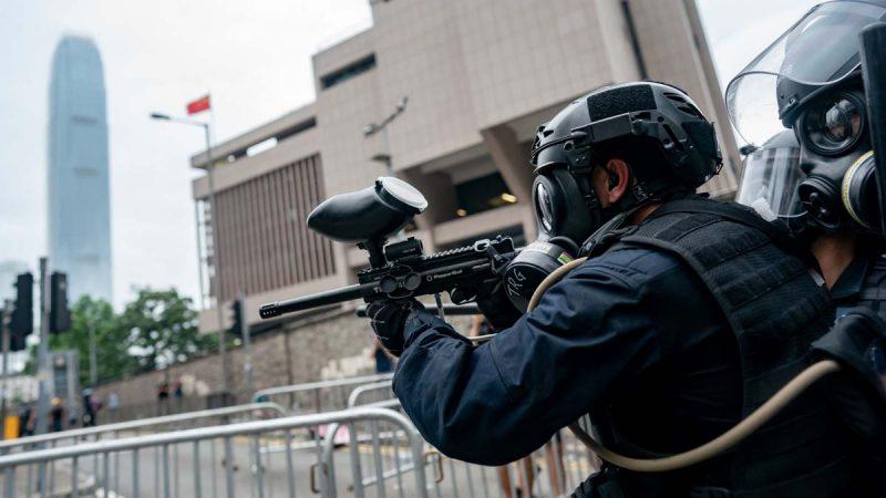 美官员:若中共军警入港镇压 美即实施制裁