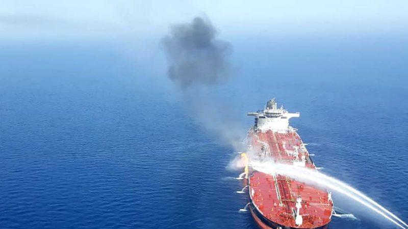 2艘油轮遇袭 安倍:不论攻击者是谁都严厉谴责