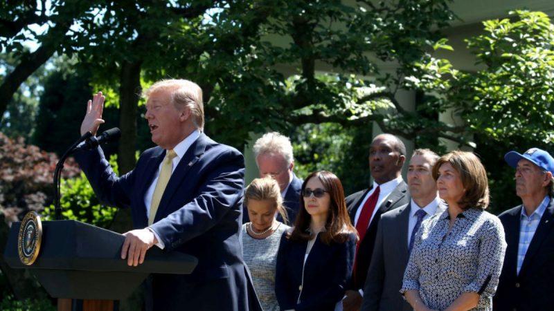 川普宣布医保新规:千万美国人将获高质量健保