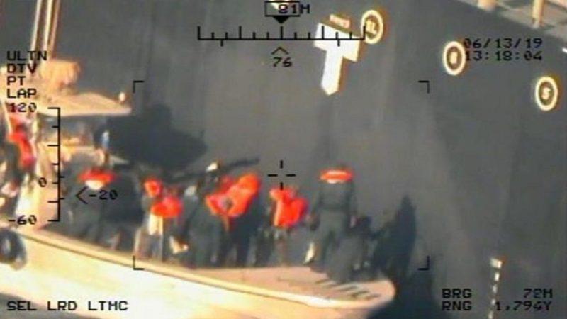 伊朗核武勒索 美增兵千人 公布油轮攻击新照