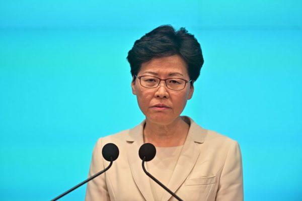 继续无视民意 林郑高调称有中共支持不会辞职