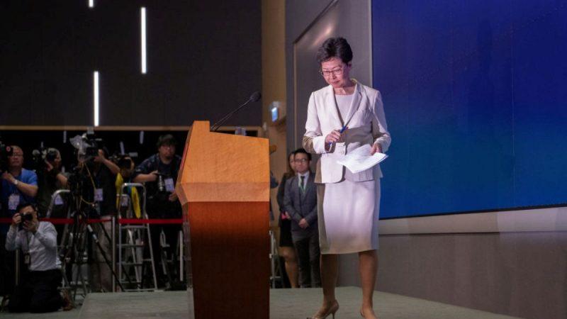董建華智庫發起臉書投票 近8成網友贊成林鄭下台