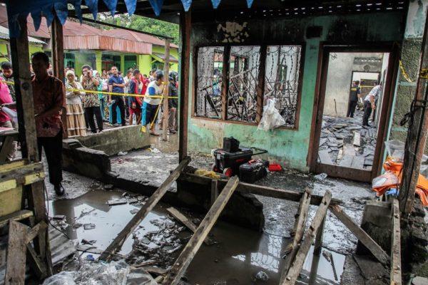 印尼火柴廠失火 烈焰迅吞建築釀至少30死