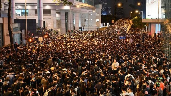 【持续更新】香港反送中 6.21示威升级(视频)