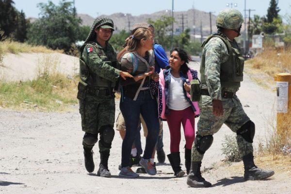 減緩移民湧入美國 墨西哥部署15000名軍人