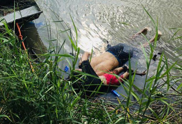 中美洲移民铤险渡河 父女同丧命照片震惊国际社会