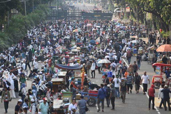 總統選舉無效訴訟宣判 印尼4.7萬軍警進駐首都