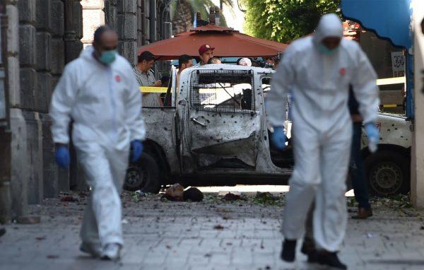 冲着警方来 突尼斯连2爆酿至少1死8伤