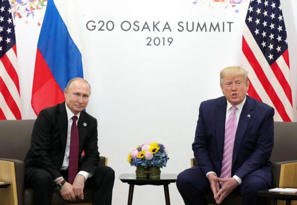 G20峰會 普京邀川普2020訪莫斯科 川普積極回應