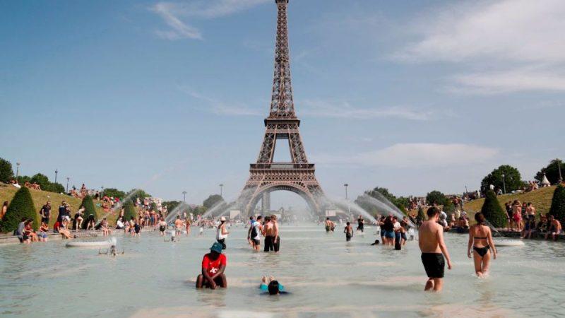 超级热浪袭欧 法国气温创历史新高达45.1度