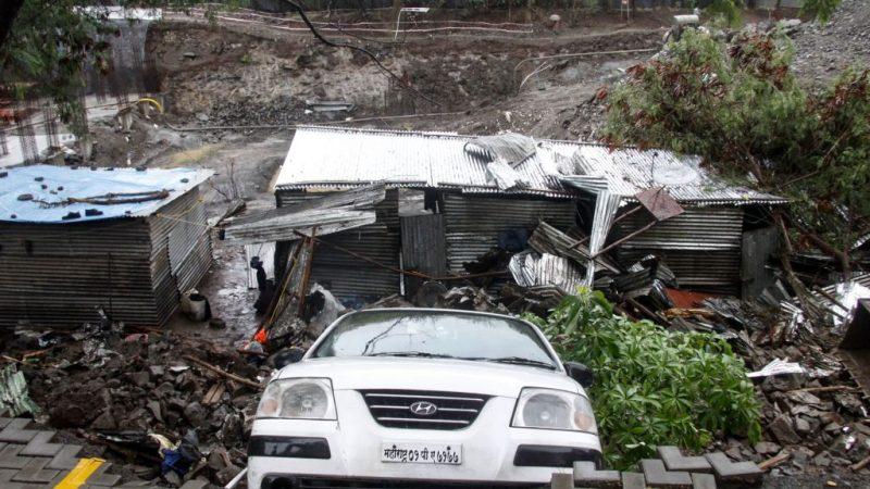 睡夢中 印度圍牆倒塌釀至少15死