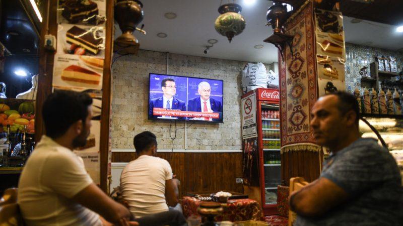17年来首场直播辩论 土耳其伊斯坦堡候选人交锋