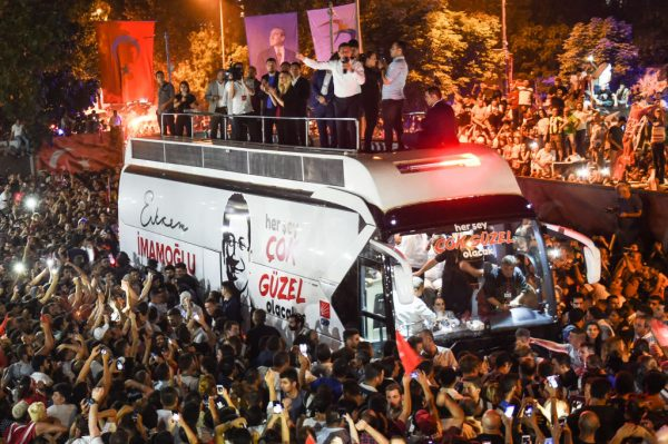 伊斯坦布尔重选市长 土耳其执政党再吞败