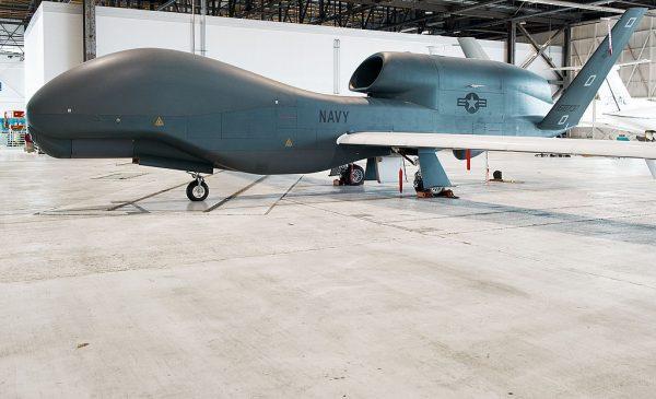 """美军无人机""""全球鹰""""遭伊朗飞弹击落"""