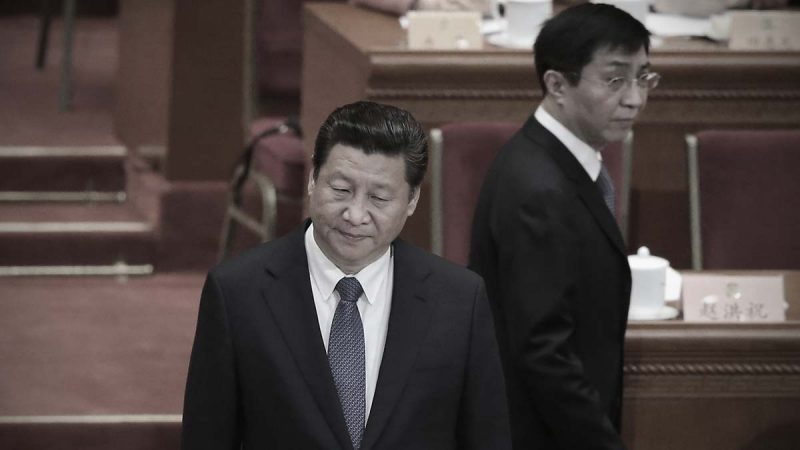 党媒延迟发稿撤修例不寻常 王沪宁继续给习挖坑?