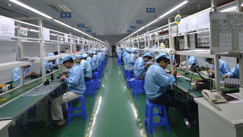 大批电子企业迁出中国 高盛评越南两大优势