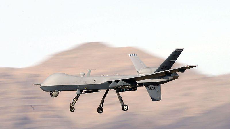 两油轮中东遇袭前 美无人机遭攻撃