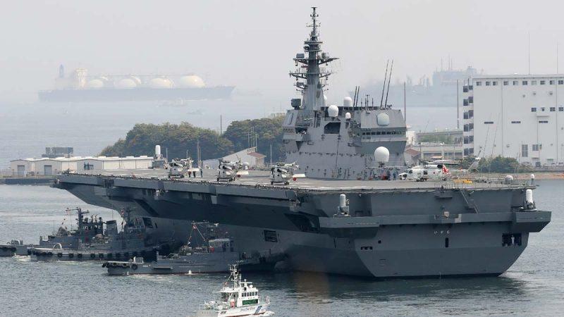 南海升温:日准航母与美舰演习 中共首部署歼10