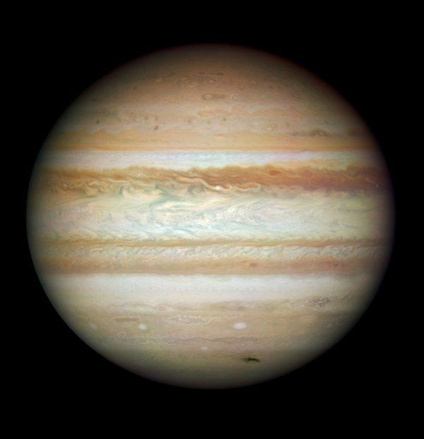 木星衝10日到來 離地球最近可看大紅斑