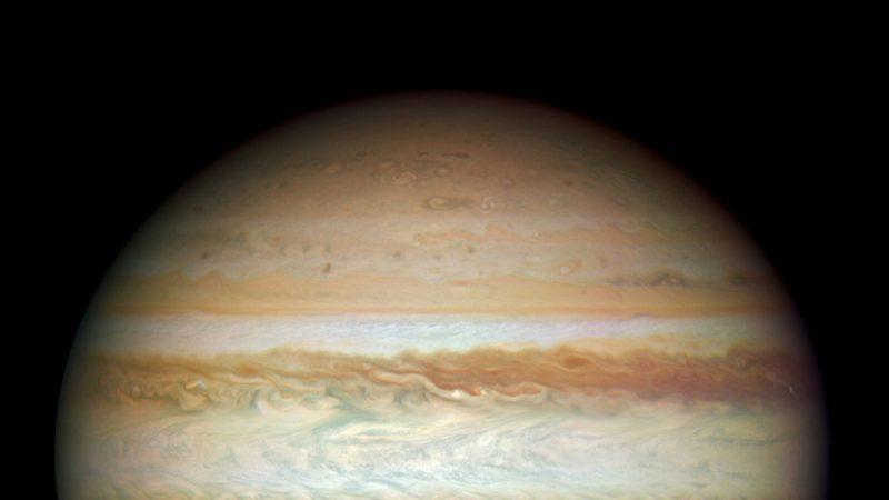 木星冲10日到来 离地球最近可看大红斑