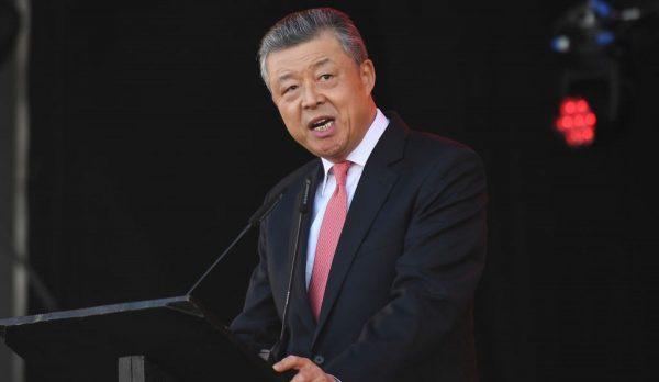 切割港府卸责?中共驻英大使称北京未要求修例