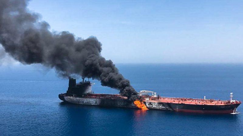 美官員:油輪遇襲極似伊朗所為 或回收碎片溯源