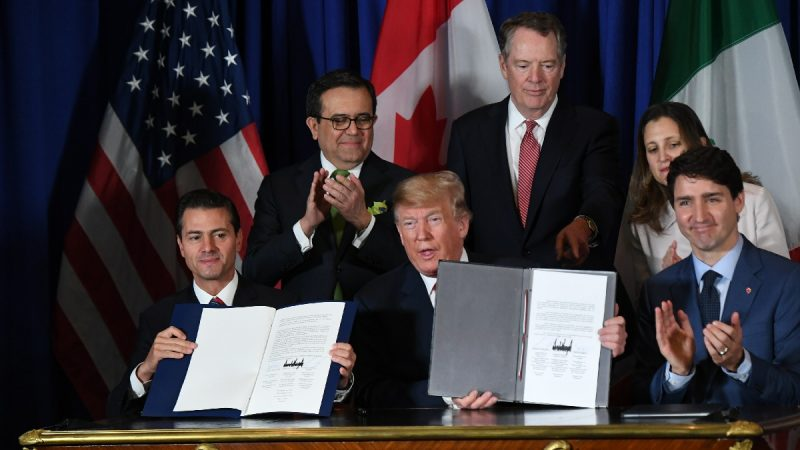 墨率先批准美墨加协定 川普促美国会跟进
