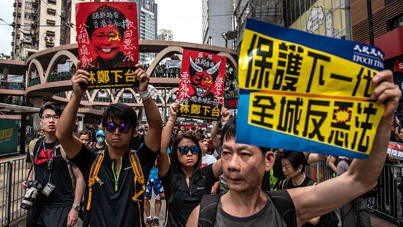 蕭茗:香港切記!西方支持香港 但若香港抗不住中共 他們只能放棄香港 並藉此打擊中共