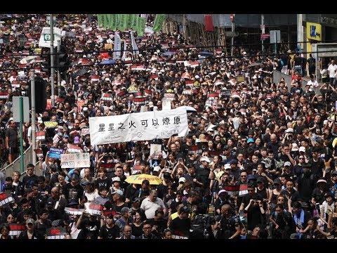 """港府暂缓修例""""三不""""激怒港人 6 16大游行将达144万警方要镇压?"""