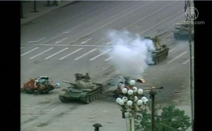 30年前今天 中共在天安門廣場開出鎮壓第一槍