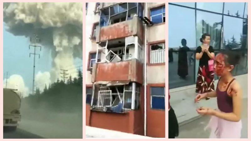 河南气化厂大爆炸 增至10死19伤(视频)