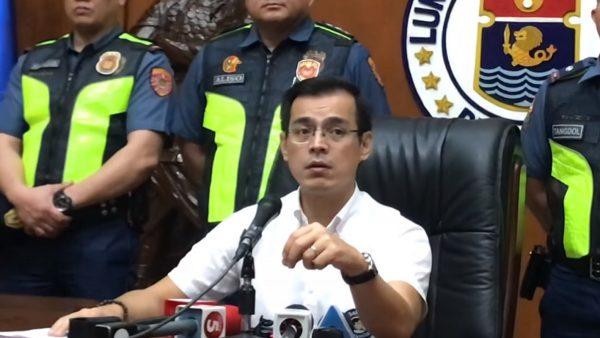 华汉当街方便还殴官 马尼拉市长要求驱逐出境