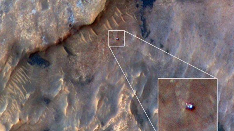 找找看 你发现火星车了吗?