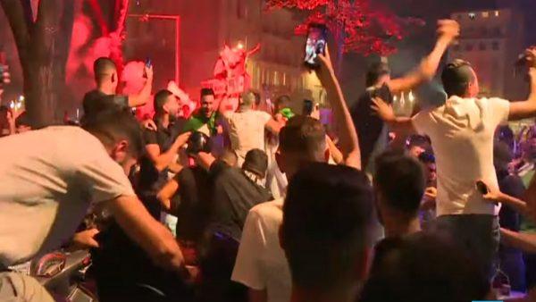阿尔及利亚取得非洲杯决赛 法国狂欢282人被捕