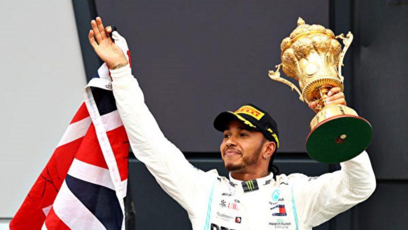 F1英國站:漢密爾頓銀石賽道第六次奪冠