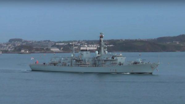伊朗水域警戒提高 英将派第3艘战舰赴波斯湾