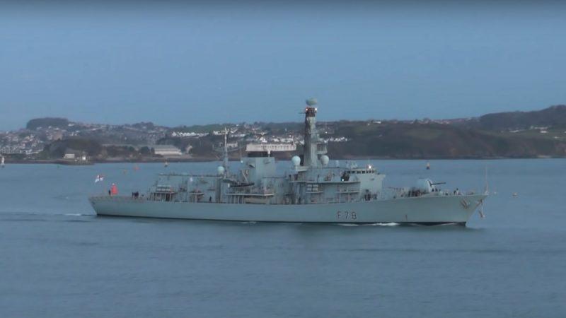 伊朗水域警戒提高 英將派第3艘戰艦赴波斯灣