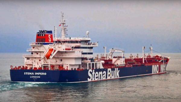 油輪遭伊朗扣押 英國:將強硬回應