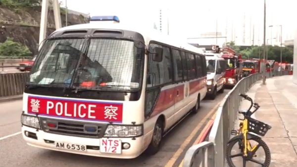 時機敏感 港警破獲炸藥 拘香港民族陣綫1名成員