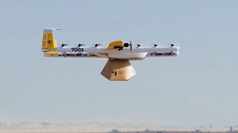 谷歌子公司Wing推出無人機管理程序