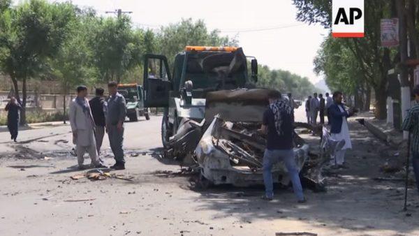 阿富汗首都连3起爆炸 已知至少5死10伤