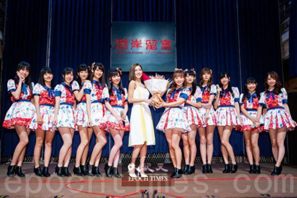 AKB48台北队发片 蔡黄汝验收成果送祝福